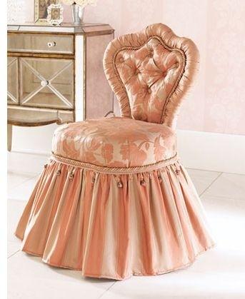 Vintage Vanity Chair 3