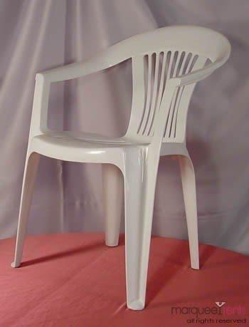 White plastic garden chair & Plastic Garden Chairs - Foter