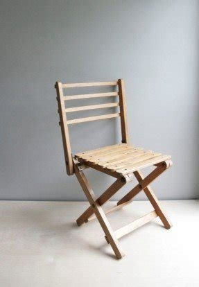 Wood folding chairs 20