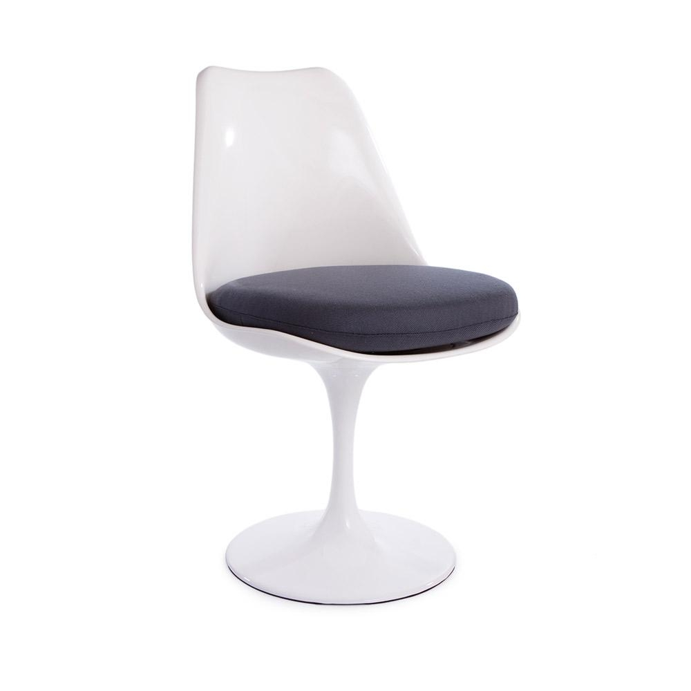 1 X * Highest Quality * Saarinen Style Tulip Dining Side Chair   White Chair ,