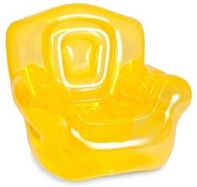 Bubble Inflatables Inflatable Chair, Canary Yellow