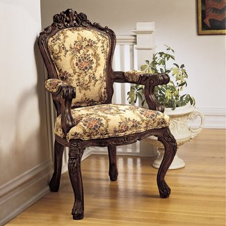 Sensational Upholstered Carved Wood Accent Chair Ideas On Foter Unemploymentrelief Wooden Chair Designs For Living Room Unemploymentrelieforg