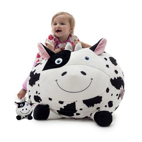 Comfort Research Bagimal Bean Bag Chair, Chloe The Cow
