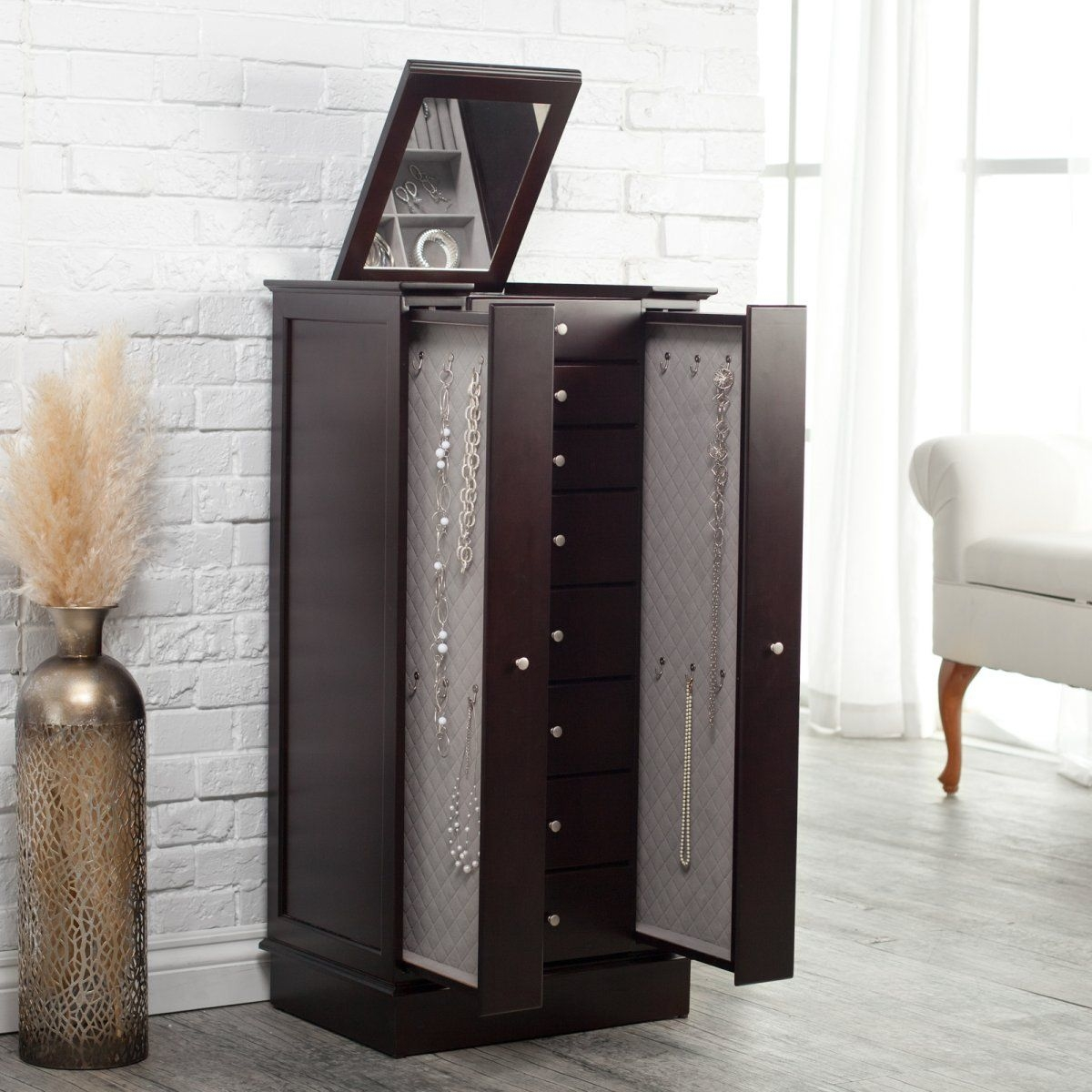 Contemporary Jewelry Armoire Foter