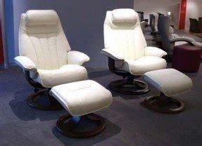 Fjords Hellevik Leather Recliner And Ottoman R Frame Norwegian Ergonomic Scandinavian Reclining Chair In Nordic