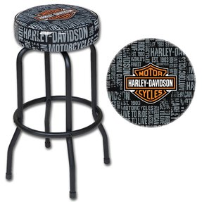 Fabulous Harley Davidson Bar Stools Ideas On Foter Squirreltailoven Fun Painted Chair Ideas Images Squirreltailovenorg