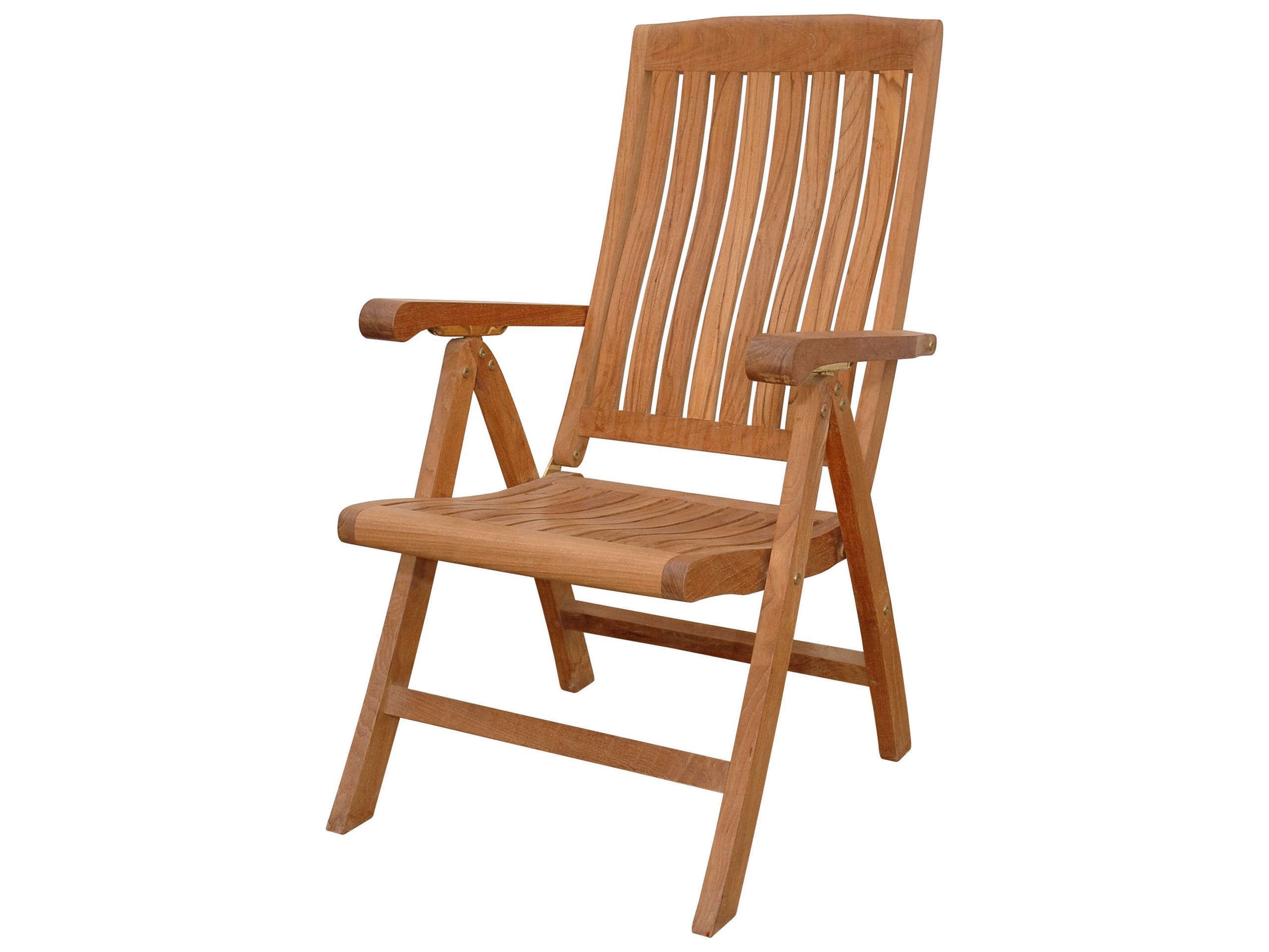 Marvelous Katana 5 Position Recliner Armchair By Anderson Teak MPN: CHR 120