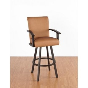 Pasadena 34 in. Extra Tall Bar Stool - With Arms - Swivel