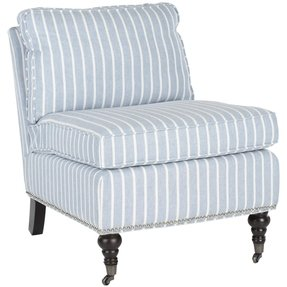 Striped Accent Chair Foter
