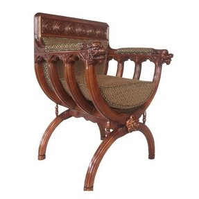 San Lorenzo Renaissance Cross Frame Chair