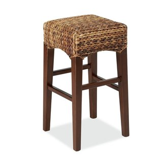Seagrass Backless Barstool - Tall