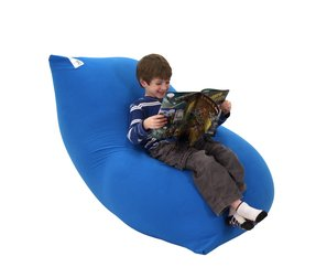Yogi Midi Bean Bag Lounger Color: Blue