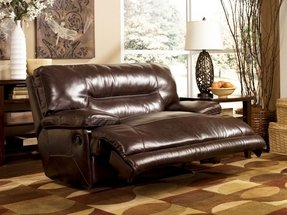 0 Wall Recliner w/ Wide Seat Box by Ashley - Chocolate (4240152)
