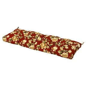 Greendale Home Fashions Indoor/Outdoor Bench Cushion, Roma Floral, 54-Inch