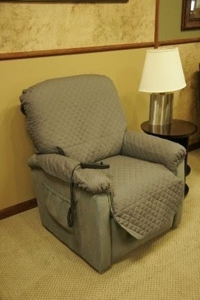 "LIQUAGUARDTM Incontinence Recliner Cover (XLarge Dove Gray, fits overall chair size 35""- 48"")"
