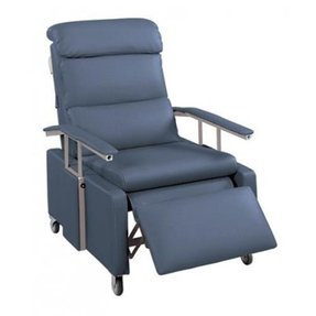 LUMEX DROP-ARM RECLINERS - PILLOW BACK, THREE POSITIONS Blue Ridge