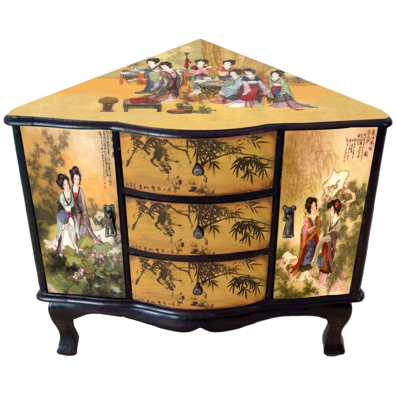 Asian style cabinets