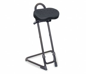 Sit/Stand Stool, 23-1/2 to 33-1/2""