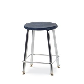 Virco 12018 120 Series 18H Stool with Soft Plastic Seat