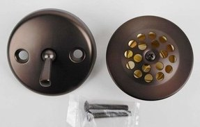 Bathtub Drain Conversion Kit, Oil Rubbed Bronze