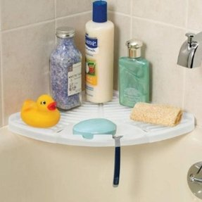 Plastic Corner Shower Caddy Foter
