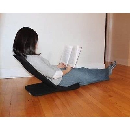 Portable Floor Chair, Karma Chair, Folding Chair. Adjustable Angle  Back Rest.