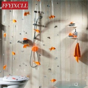 Long Shower Curtain Ideas
