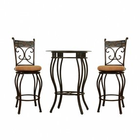 Square Bistro Table Set Foter