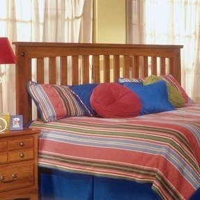 City Park Slat Headboard Size: King