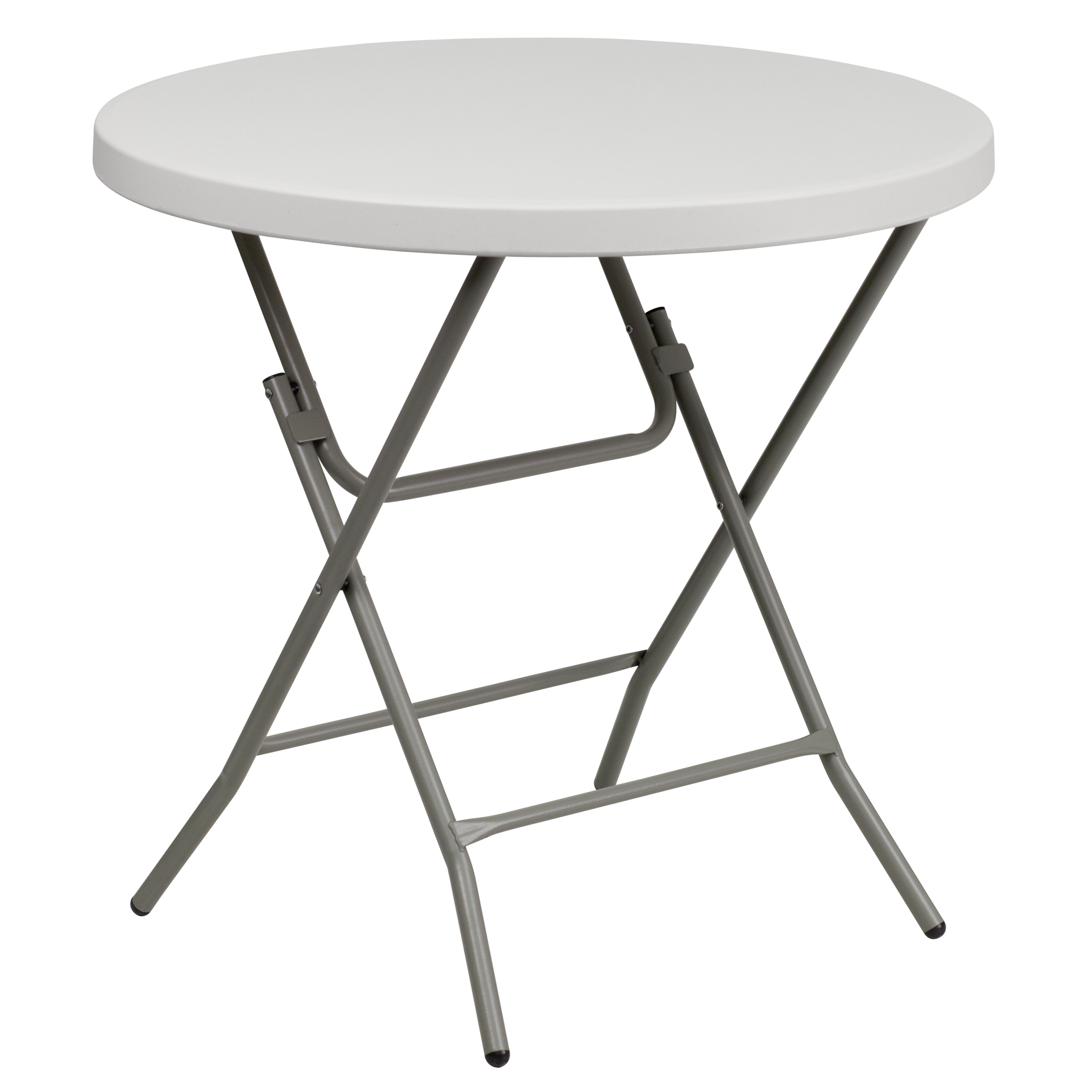 Incroyable Flash Furniture Square Granite White Plastic Folding Table, 27 Inch