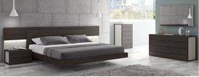 chrome bedroom furniture. J\u0026M Furniture 17853-K Palermo King Size Bedroom Set - White Lacquer \u0026 Chrome
