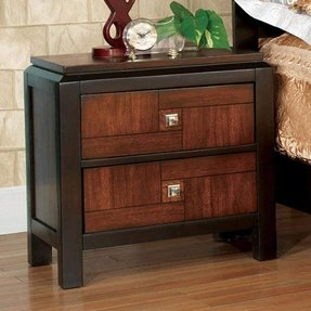 Patra Acacia & Walnut Finish Night Stand