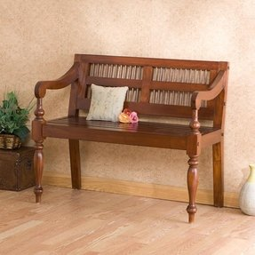 Indoor Wood Benches - Foter