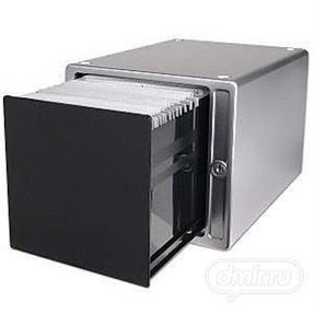 80-Disc One Touch CD/DVD Storage Box