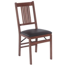 Folding Chair - Set of 2 (Fruitwood) (See Text)