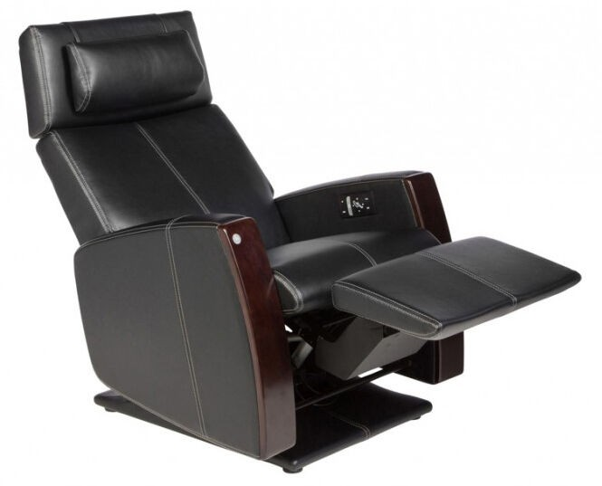 Charmant Human Touch Perfect Chair PCX 720 Zero Gravity Recliner (Black Sofhyde)
