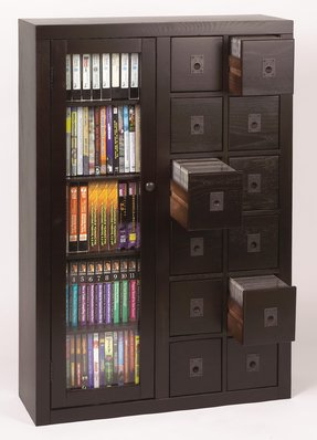 Dvd Cabinet With Gl Doors Ideas On