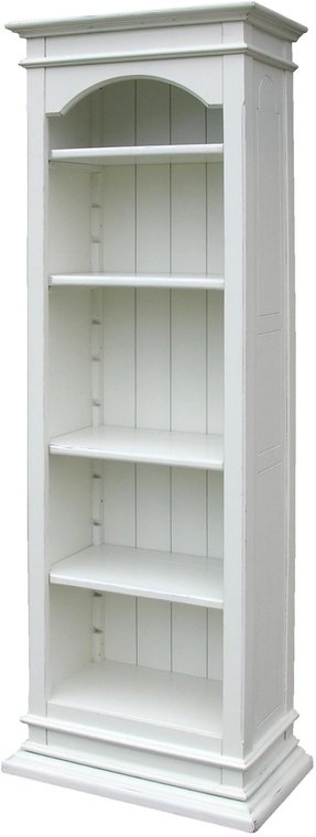 New Trade Winds Bookcase Green Painted Hardwood Provence