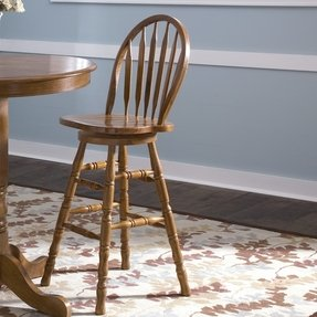 Attractive Back Windsor Dining Arm Chair - Foter DA02