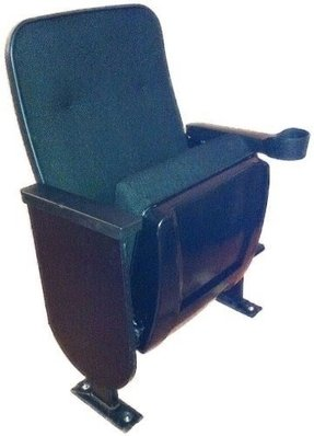 Used Real movie cinema theater seating chairs Manning Marquee fixed back w/ cup holder armrests