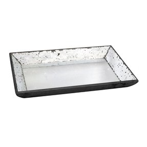 A&B Home Glass Tray, 19.5 by 13 by 2-Inch