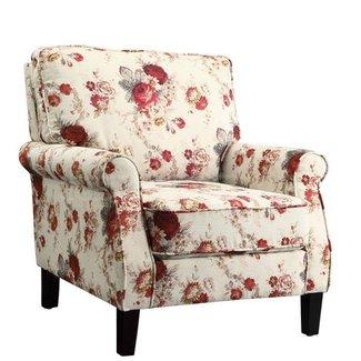 Pleasing Floral Accent Chairs Ideas On Foter Inzonedesignstudio Interior Chair Design Inzonedesignstudiocom