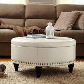 Round Tray For Ottoman Foter