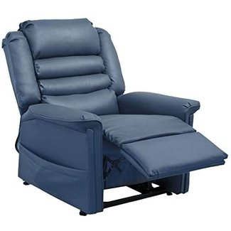 Catnapper Invincible Power Lift Recliner in Deep Sapphire