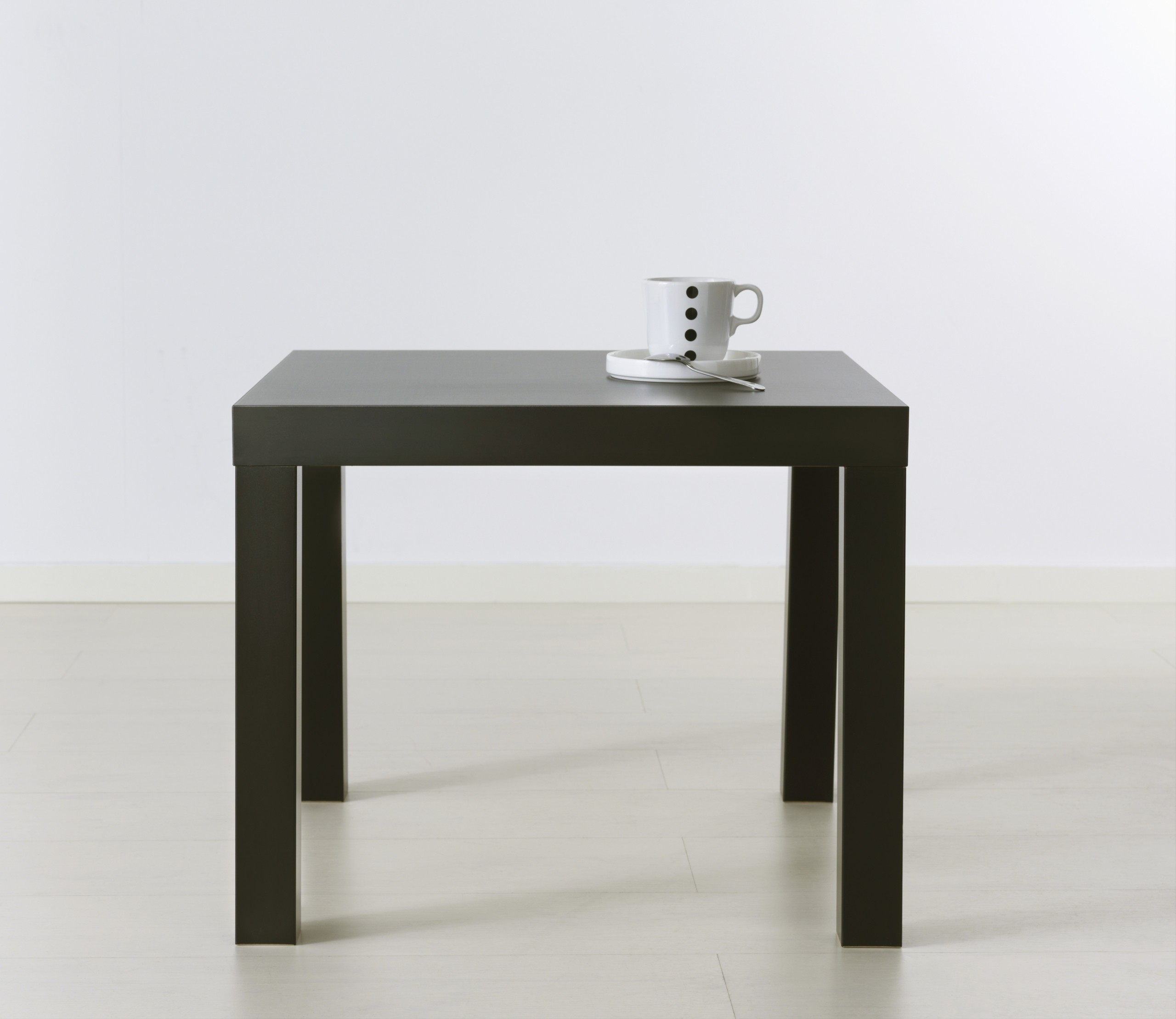 Ikea Lack Side Table With Extension Legs (Black)