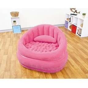 Intex Cafe Inflatable Chair, Pink