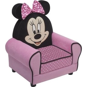 Minnie Mouse Figural Upholstered Chair for toddler or child DISNEY