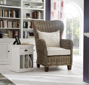 Rattan Living Room Chairs - Foter
