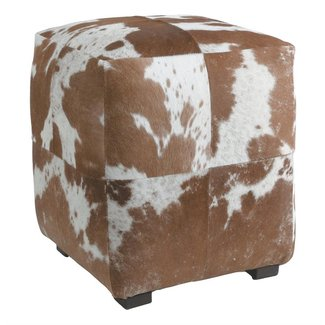 Cowhide Ottomans Foter