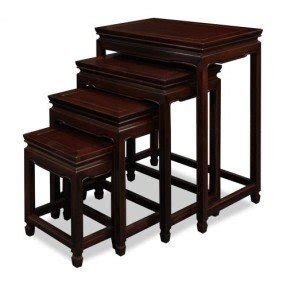 Rosewood Ming Design Nesting Tables